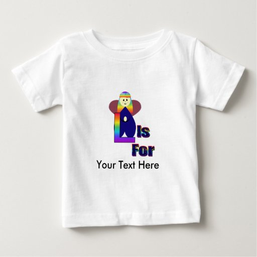 Angelbet Letter L Baby T-Shirt