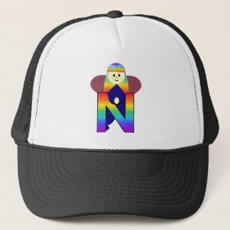 Angelbet Letter N Trucker Hat