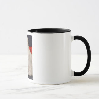 AngelCat Ringer Mug Funny, unique, pretty