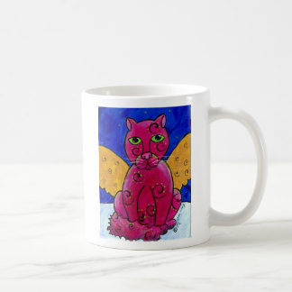 AngelCatPink Coffee Mug