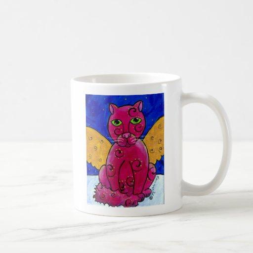 AngelCatPink Tazas De Café