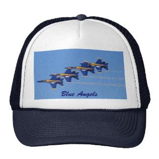 Ángeles azules, ángeles azules gorras