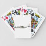 Ángeles azules de Lockheed C-130 Hércules grises Baraja Cartas De Poker