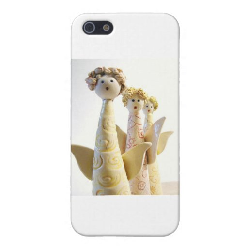 Ángeles - cerámica única iPhone 5 funda