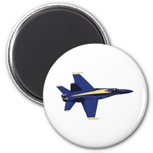 Ángeles de azules marinos de los E.E.U.U. en vuelo Imán Para Frigorifico