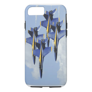 Ángeles de azules marinos funda iPhone 7