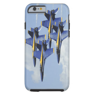 Ángeles de azules marinos funda resistente iPhone 6