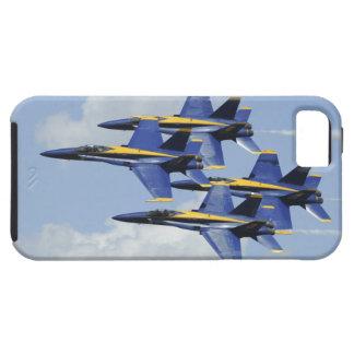 Ángeles de azules marinos iPhone 5 carcasa