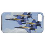 Ángeles de azules marinos iPhone 5 protectores
