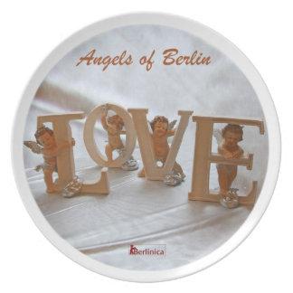 Ángeles de Berlín - alas del deseo Platos