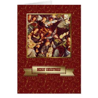 Ángeles de Herald. Tarjetas de Navidad religiosas