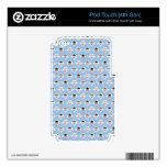 Ángeles de Kawaii (azules) Calcomanía Para iPod Touch 4G