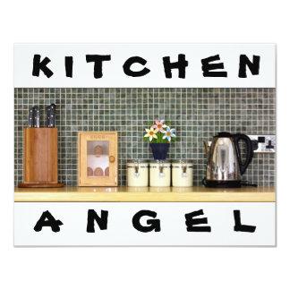 Ángeles de la cocina comunicado personalizado