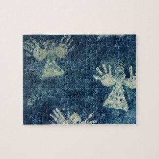 Ángeles de la mano puzzle