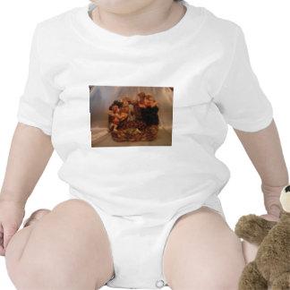 Ángeles de la querube trajes de bebé
