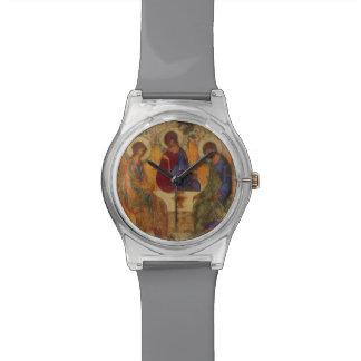 Ángeles de la trinidad en Mamre Reloj De Mano