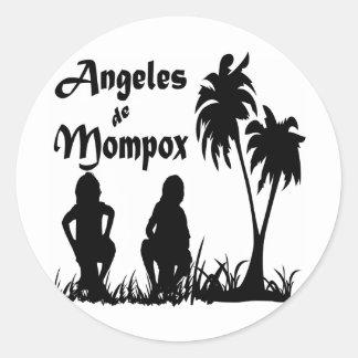 Angeles de Mompox Classic Round Sticker