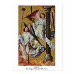 Ángeles de Rogier van der Weyden Postal