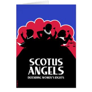 Ángeles de SCOTUS - edición (Arma-Libre) no Tarjeta De Felicitación