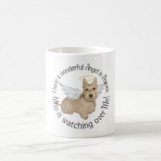 Ángeles de trigo de Terrier del escocés Taza Clásica
