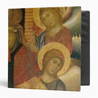 """Ángeles del Altarpiece de Santa Trinita Carpeta 1 1/2"""""""