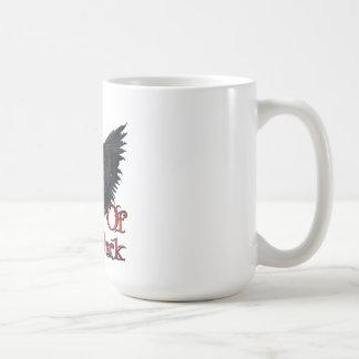 Ángeles del logotipo oscuro tazas de café