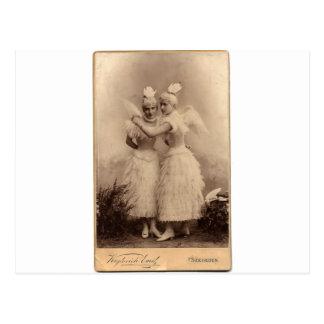 Ángeles del Victorian Tarjetas Postales