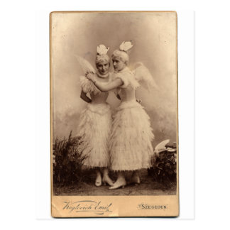 Ángeles del Victorian Postales