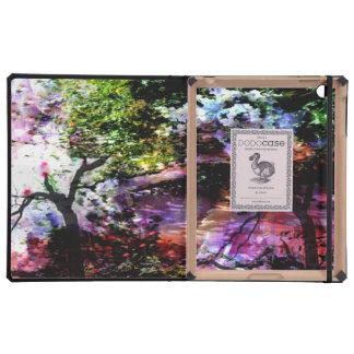 Ángeles en el jardín de Monet iPad Protector