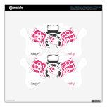 Ángeles en el logotipo Pink.pdf de la fotografía d Mando PS3 Skins