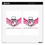 Ángeles en el logotipo Pink.pdf de la fotografía d Pegatina Skin Para Kindle Fire