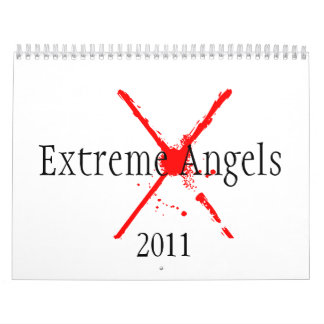 Ángeles extremos 2011 calendarios de pared