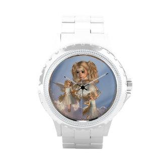 Ángeles jovenes relojes de pulsera