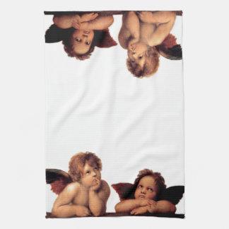 Ángeles pensativos toallas