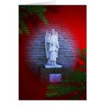 Ángeles santos - ángel del navidad tarjeta