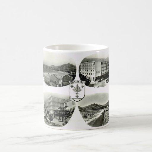 Angeles sur mer classic white coffee mug