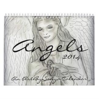 Ángeles - un calendario de ArtBySonya 2014