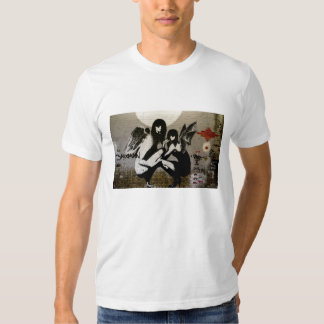 Ángeles y pasillos camisas