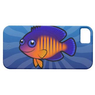 Angelfish 1 del dibujo animado iPhone 5 Case-Mate cárcasa