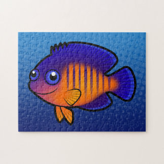 Angelfish 1 del dibujo animado rompecabezas