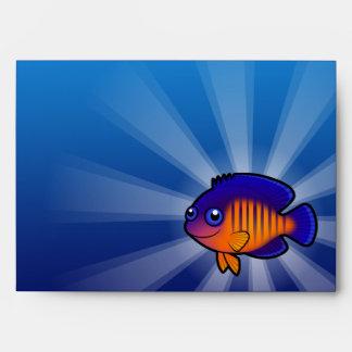 Angelfish 1 del dibujo animado