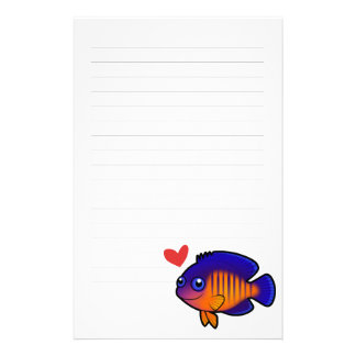 Angelfish 1 Love Stationery