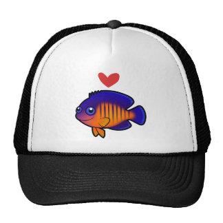 Angelfish 1 Love Trucker Hat