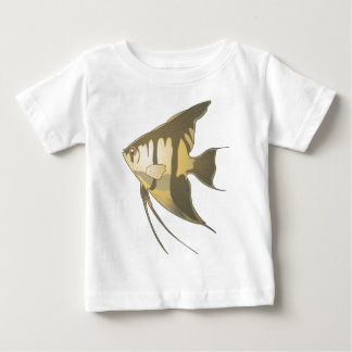 Angelfish 2 playera de bebé