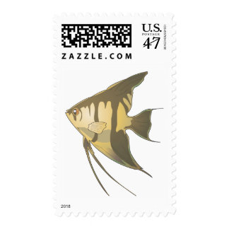 Angelfish 2 timbres postales