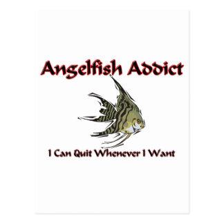 Angelfish Addict Postcard