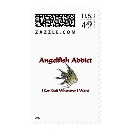 Angelfish Addict Stamps