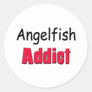 Angelfish Addict Sticker