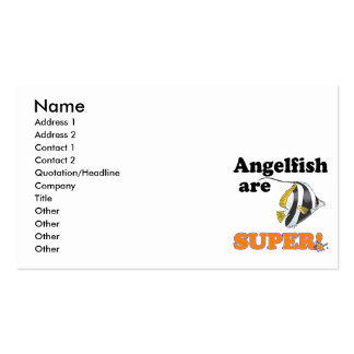 angelfish are super business card
