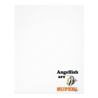 angelfish are super customized letterhead